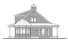 Cottage Exterior - Front Elevation Plan #23-2701