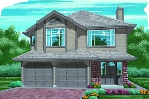 Traditional Exterior - Front Elevation Plan #47-558