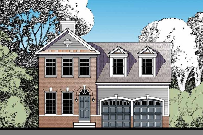 Home Plan - Traditional Exterior - Front Elevation Plan #1029-58