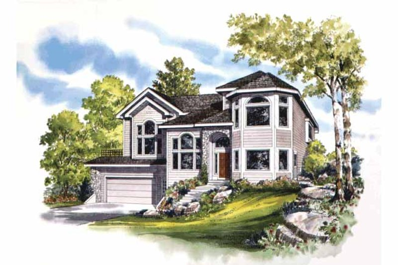 House Design - Contemporary Exterior - Front Elevation Plan #942-2