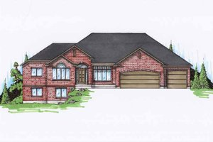 Traditional Exterior - Front Elevation Plan #945-94