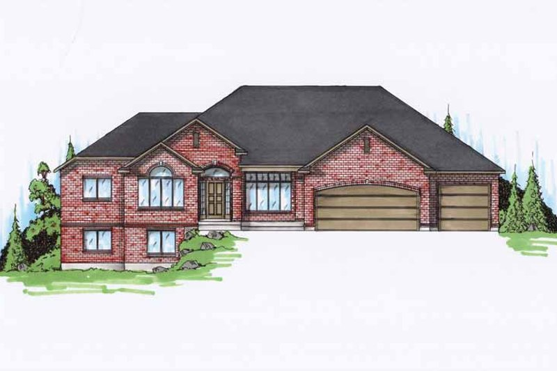 House Plan Design - Traditional Exterior - Front Elevation Plan #945-94