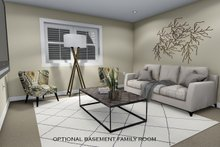 Architectural House Design - Future Lower Level Family Room
