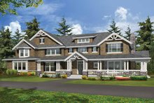 Craftsman Exterior - Front Elevation Plan #132-335