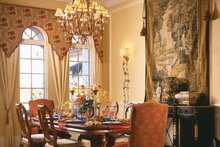 Mediterranean Interior - Dining Room Plan #930-92