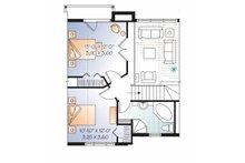 European Floor Plan - Upper Floor Plan Plan #23-2491