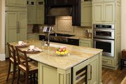 European Style House Plan - 4 Beds 4 Baths 4693 Sq/Ft Plan #929-892 Interior - Kitchen