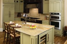 House Plan Design - European Interior - Kitchen Plan #929-892