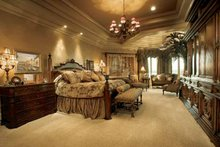 European Interior - Master Bedroom Plan #930-357
