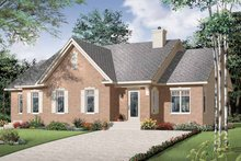 Home Plan - Craftsman Exterior - Front Elevation Plan #23-2394