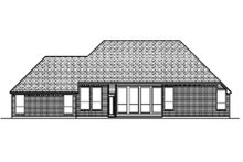 Traditional Exterior - Rear Elevation Plan #84-361