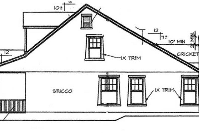 Country Exterior - Other Elevation Plan #472-398 - Houseplans.com