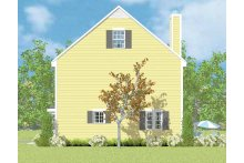 Colonial Floor Plan - Other Floor Plan Plan #72-1104