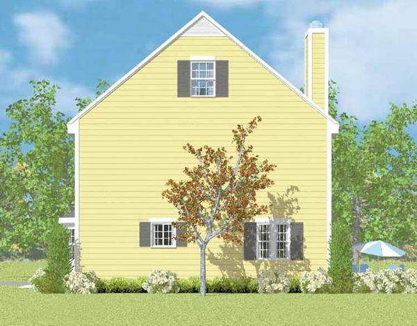 Colonial Floor Plan - Other Floor Plan Plan #72-1104