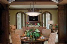 House Design - Classical Interior - Dining Room Plan #928-55