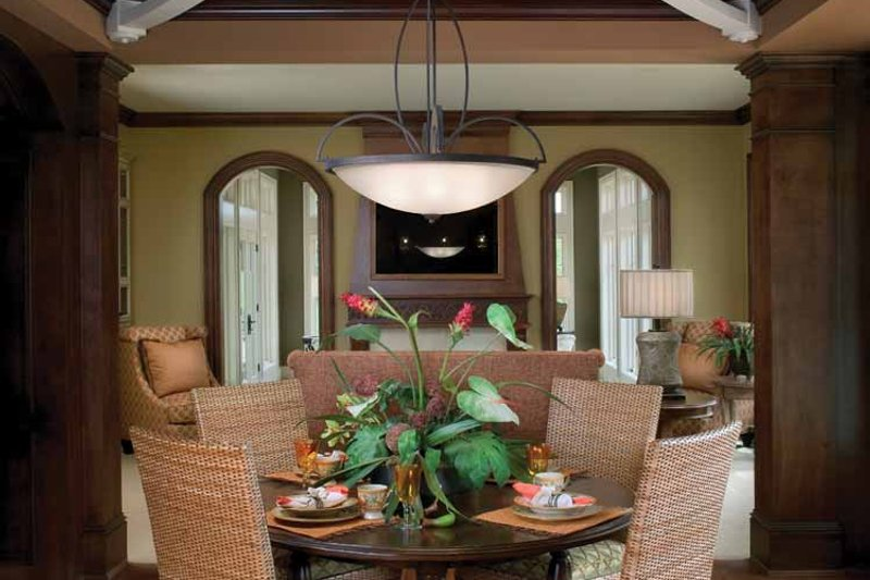 Classical Interior - Dining Room Plan #928-55 - Houseplans.com