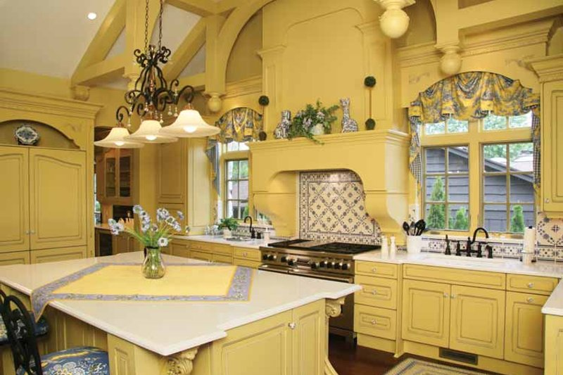 Country Interior - Kitchen Plan #928-166 - Houseplans.com