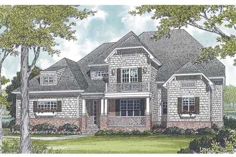 Craftsman Exterior - Front Elevation Plan #453-560 - Houseplans.com