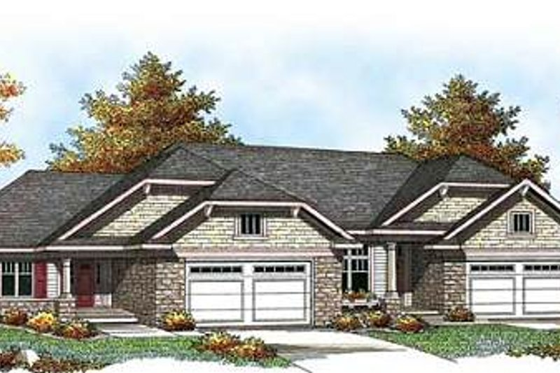 Traditional Exterior - Front Elevation Plan #70-939 - Houseplans.com