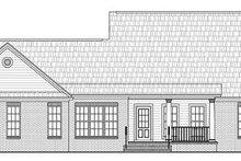 Dream House Plan - Ranch Exterior - Rear Elevation Plan #21-288