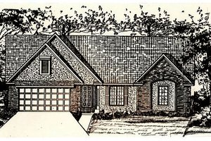 Traditional Exterior - Front Elevation Plan #405-171