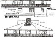 Beach Style House Plan - 3 Beds 2 Baths 1888 Sq/Ft Plan #320-292