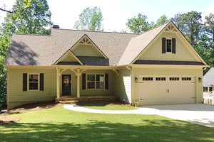 Ranch Exterior - Front Elevation Plan #437-79