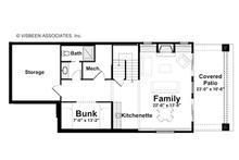 Traditional Floor Plan - Lower Floor Plan Plan #928-192