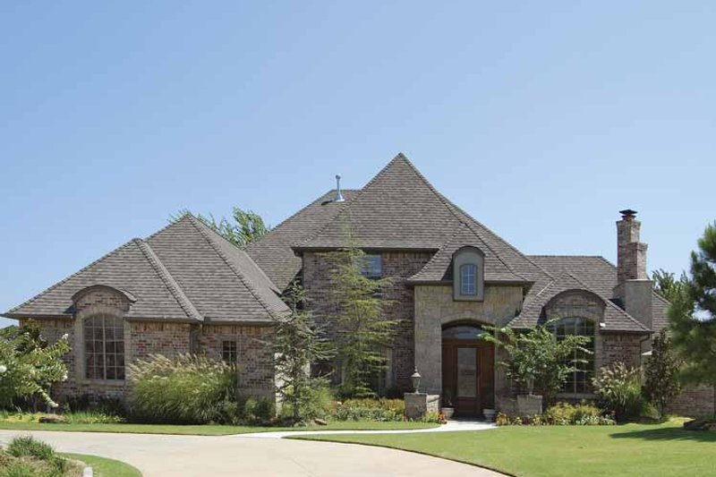 European Exterior - Front Elevation Plan #310-1134 - Houseplans.com