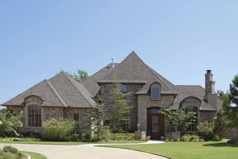 Architectural House Design - European Exterior - Front Elevation Plan #310-1134