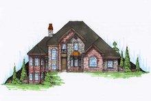 House Plan Design - European Exterior - Front Elevation Plan #5-191