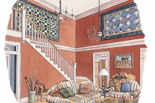 House Plan Design - Classical Interior - Entry Plan #429-209