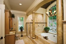 European Interior - Master Bathroom Plan #929-894
