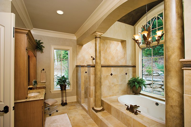 European Interior - Master Bathroom Plan #929-894 - Houseplans.com