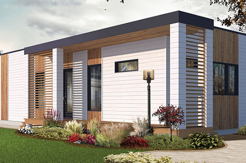 Contemporary Exterior - Other Elevation Plan #23-2602 - Houseplans.com