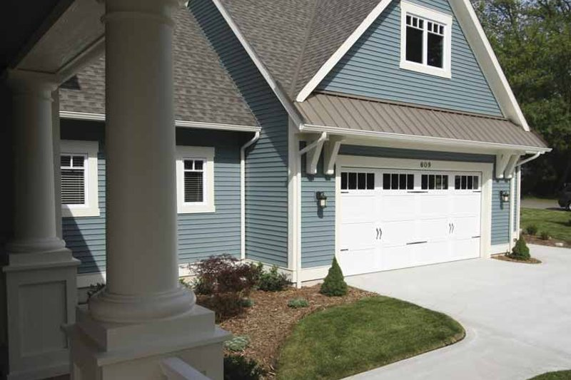 Traditional Exterior - Other Elevation Plan #928-44 - Houseplans.com