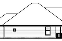 Dream House Plan - Contemporary Exterior - Other Elevation Plan #999-155