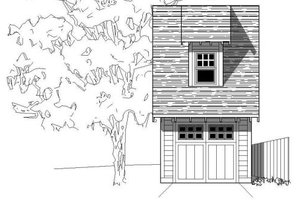 Bungalow Exterior - Front Elevation Plan #423-30