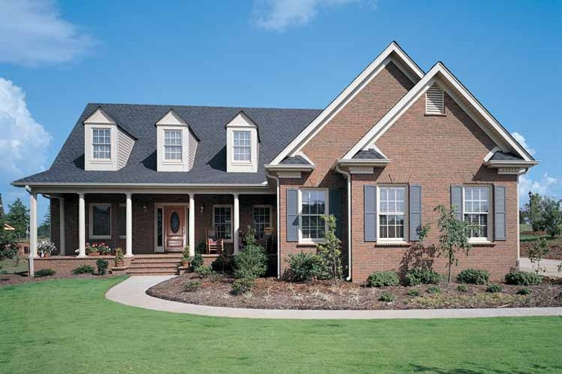 Home Plan - Country Exterior - Front Elevation Plan #929-154