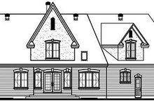 Dream House Plan - European Exterior - Rear Elevation Plan #23-718