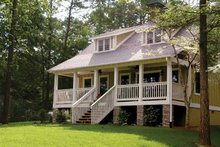 Home Plan - Colonial Exterior - Front Elevation Plan #17-2761