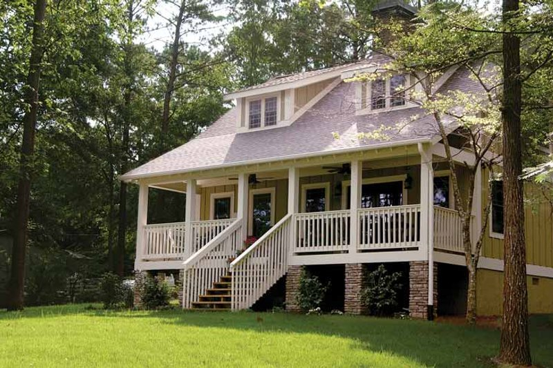 Dream House Plan - Colonial Exterior - Front Elevation Plan #17-2761