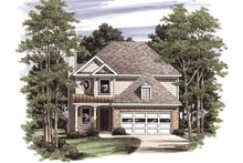 House Plan Design - Country Exterior - Front Elevation Plan #927-758