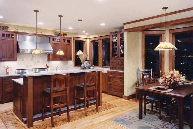 Craftsman Interior - Kitchen Plan #46-749 - Houseplans.com