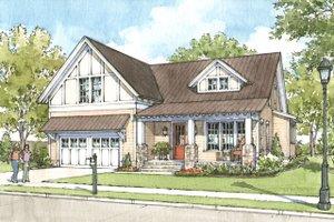 Craftsman Exterior - Front Elevation Plan #900-1