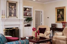 Country Interior - Family Room Plan #406-9626