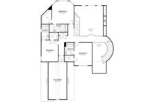Country Floor Plan - Upper Floor Plan Plan #437-81