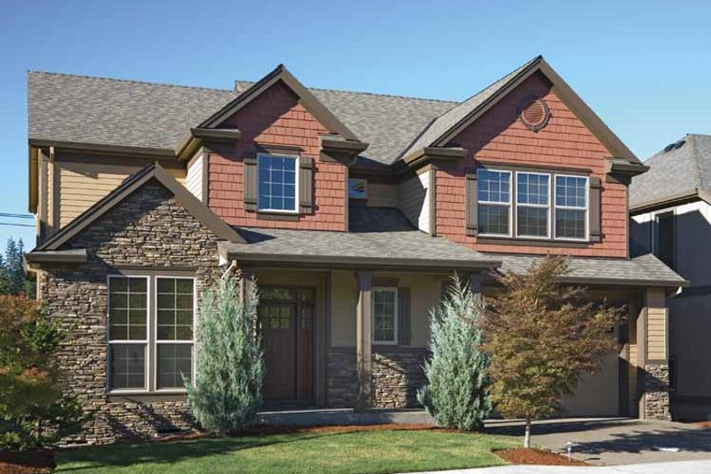 Home Plan - Traditional Exterior - Front Elevation Plan #48-850