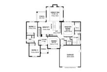 Ranch Floor Plan - Main Floor Plan Plan #1010-45