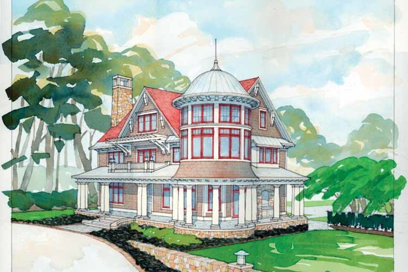 Craftsman Exterior - Front Elevation Plan #928-63 - Houseplans.com